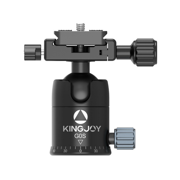 KINGJOY KINGJOY G0S new design 360 degrees rotation ball head with arca swiss quick release plate